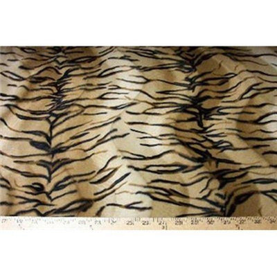 Velboa Small Camel Bengal Tiger Fur