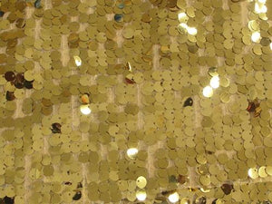 Dangle Scale Sequins GOLD