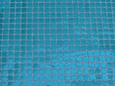 Square Sequins TURQUOISE