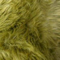Long Pile Shaggy Fur GREEN