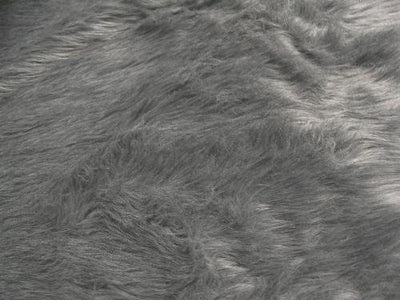 Long Pile Shaggy Fur GREY