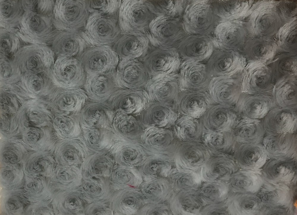 Rose Bud Fur SILVER