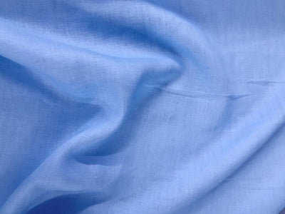 Stone Washed Linen SKY BLUE L-15