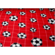 Soccer Net Red Fleece 177
