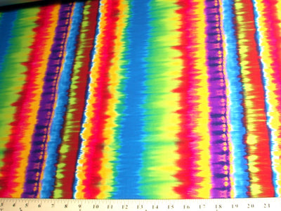 Tie Dye Stripes Spandex SP-27