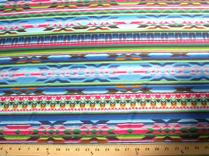 Aztex Spandex Stripes Blue SP-59
