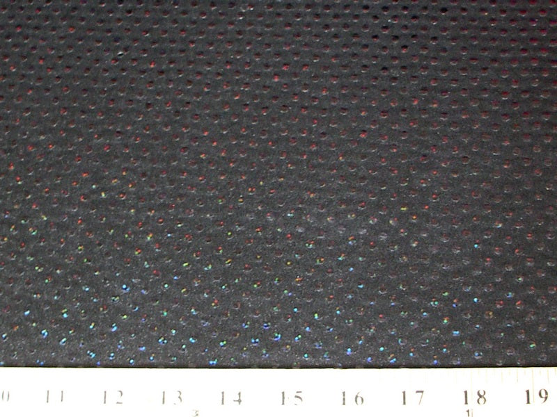 SWATCHES Circle Sequin Hologram Spandex