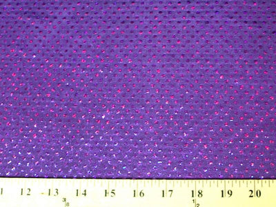 Circle Sequin Hologram Spandex PURPLE HS-6