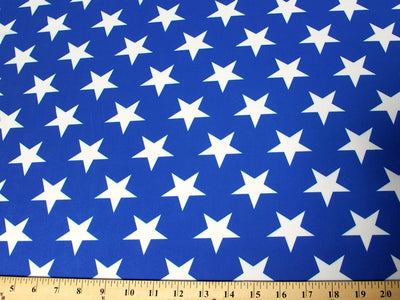 White Stars On Blue Spandex SP-29
