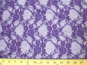 Circle Stretch Lace PURPLE SL-48