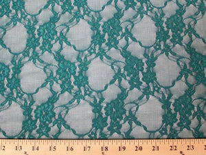 Circle Stretch Lace TEAL SL-27