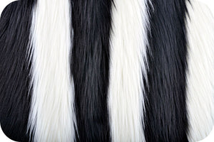 SWATCHES Striped Shaggy Fur