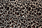 Cheetah Minky Cuddle Fur TAN BROWN
