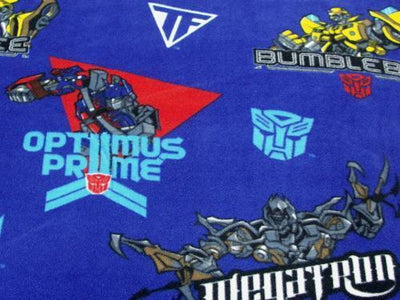 Anti Pill Transformers Optimus Prime Fleece B110