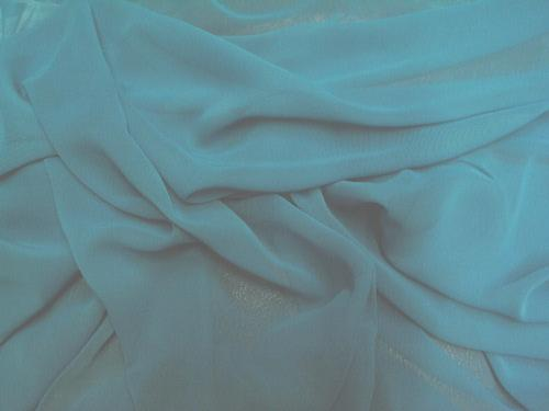 Chiffon 44 Inch Wide TURQUOISE
