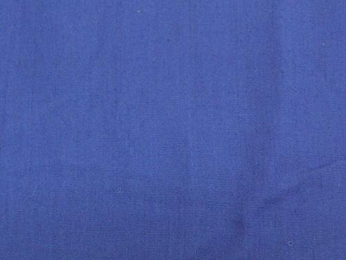 "Uniform Poly/Cotton ROYAL BLUE 64"" WIDE"