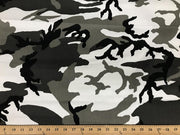 Urban Camouflage Cotton Canvas