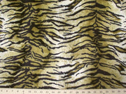 Velboa Animal Skins Fur Taupe Bengal Tiger