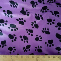SWATCHES Velboa Paw Prints