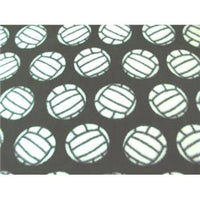 Anti-Pill Volleyballs Dark Green Fleece 389
