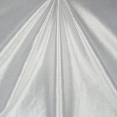 Shiny Nylon Spandex Stretch Satin White