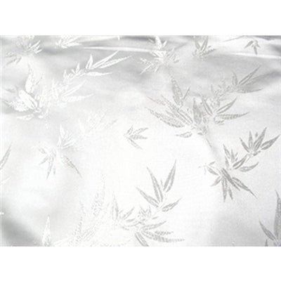 Chinese Bamboo Brocade White