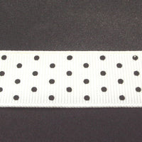 "7/8"" Grosgrain Ribbon W/Dots"