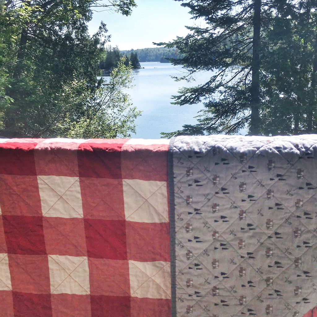 Buffalo check quilt campers edition
