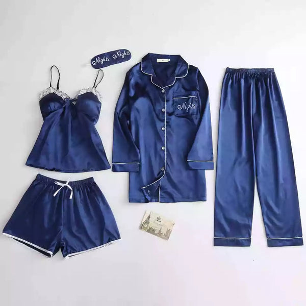 Beautiful Ice silk sleepwear set