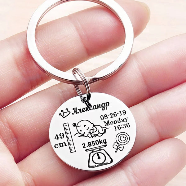 Personalized Baby Key chain