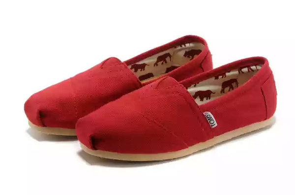 TOMS - Black/Red Espadrilles - Classic Men/women
