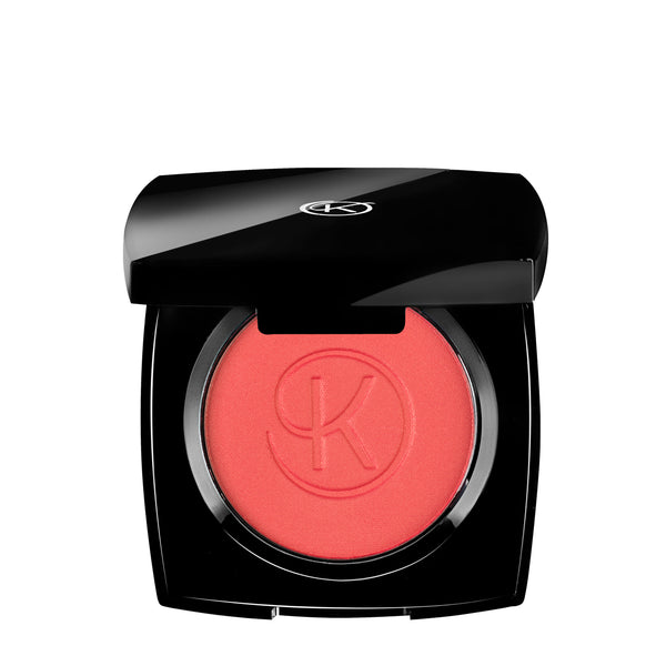 Illuminating compact blush