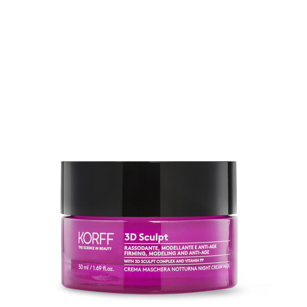 3D Sculpt Face and Neck cream mask boosting effect