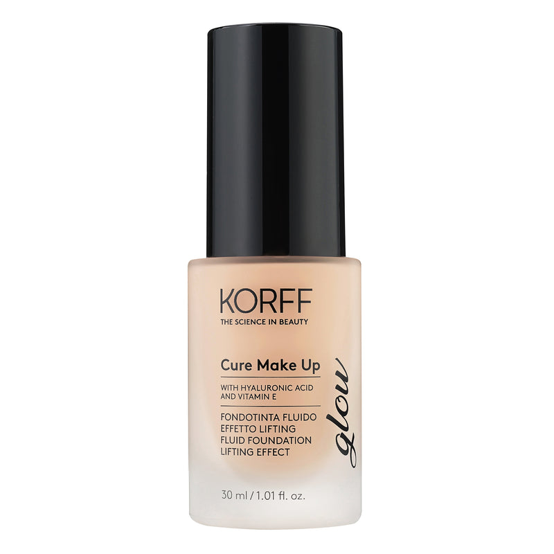Fluid foundation lifting effect glow
