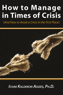 How to Manage in Times of Crisis (English) (e-Book)