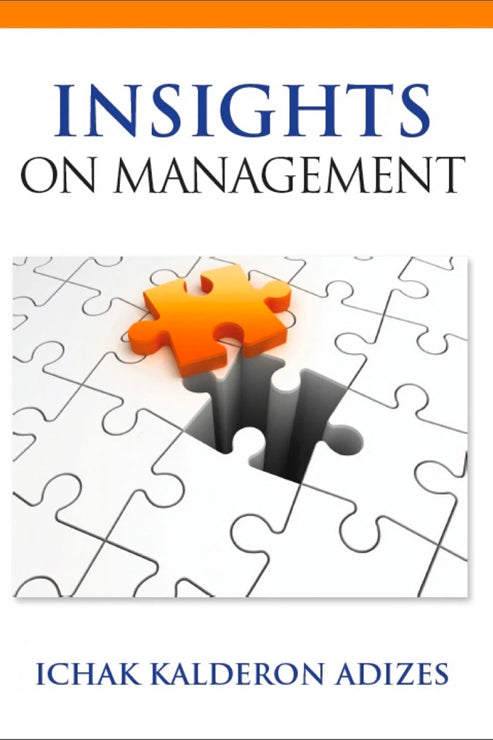 Insights On Management: Volume 1