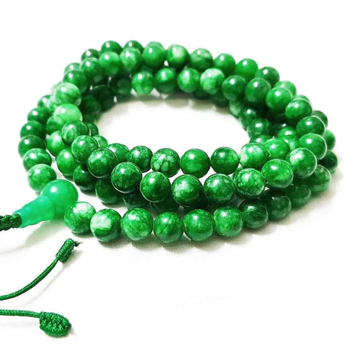 COLLIER - Collier Tibétain | Jade | 8mm