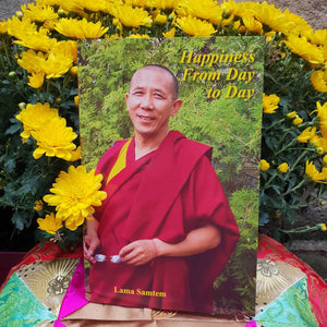 LIVRE - Book : Happiness From Day To Day By Lama Samten