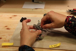 how to make leather bracelet with charms