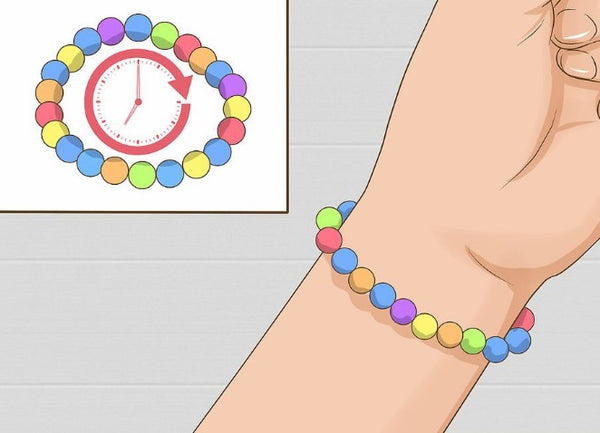 how to make a bracelet with elastic cord