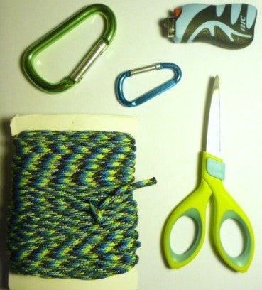 supplies to make paracord bracelets