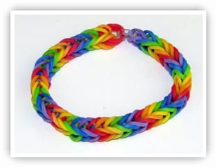 Fishtail Loom Band
