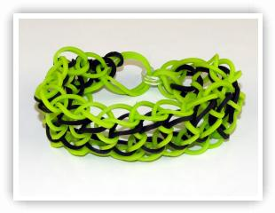 Three-Segment Dragonscale Loom Band