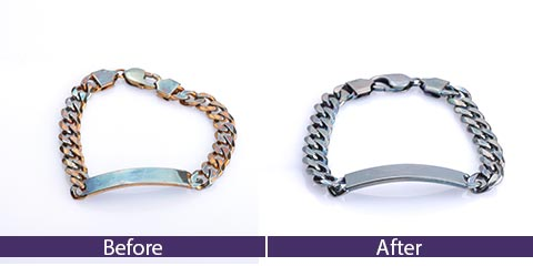 how to clean pandora bracelet tarnished