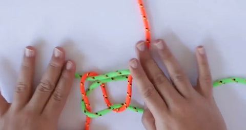 how to make bracelets with plastic string step by step