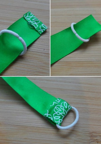 how to make friendship bands with satin ribbon