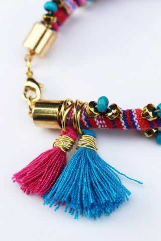 how to make bohemian bracelets