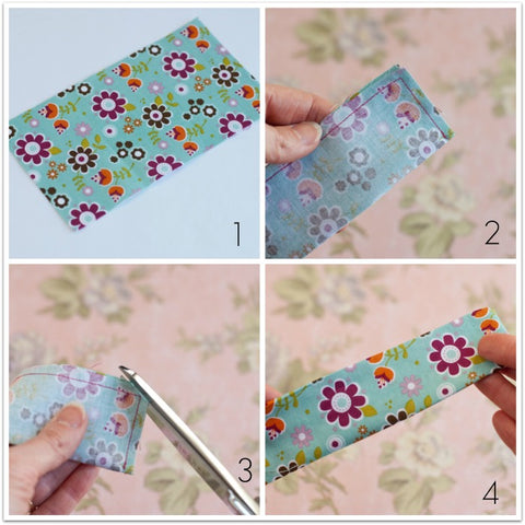 how to make a fabric wrist cuff