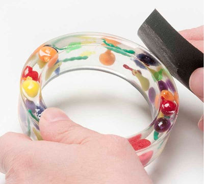how to make resin bangles