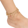 Bell Chain Link Ankle Bracelet
